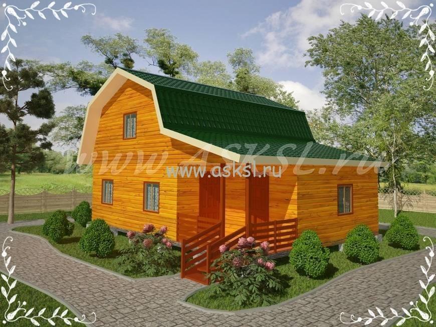 Фото каркасно-щитового дома ДД 7х9