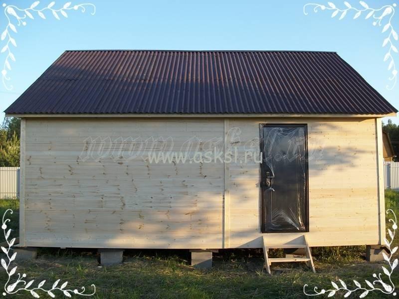 Фото каркасно-щитового дома ОД 6х7