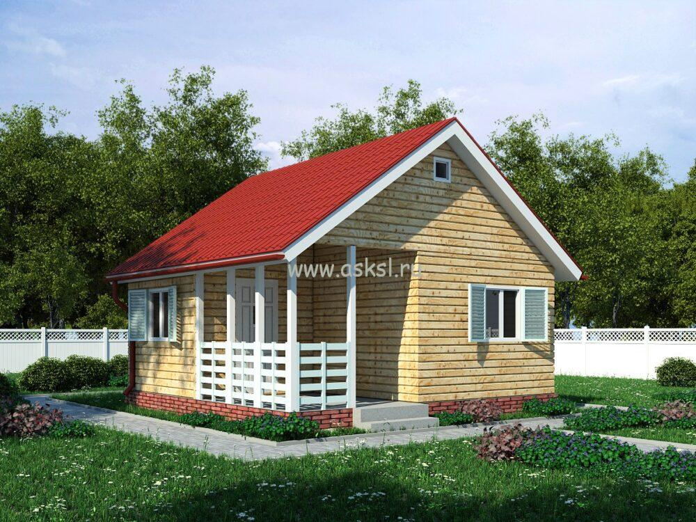 Каркасный дом ОДК 6х6 Т