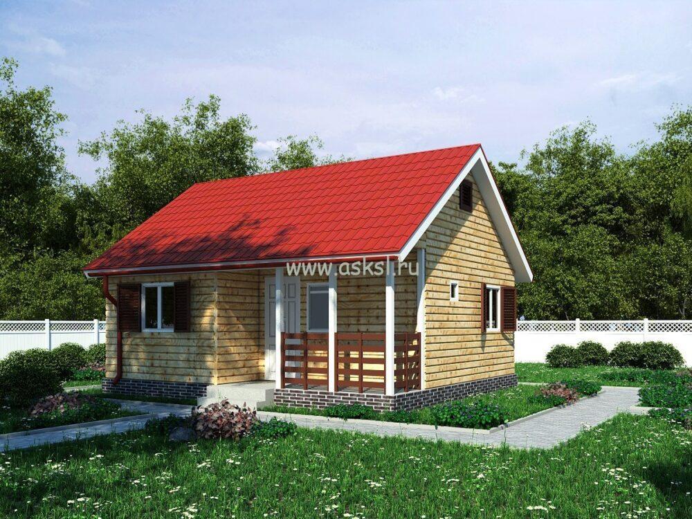 Каркасный дом ОДК 6х7 Т