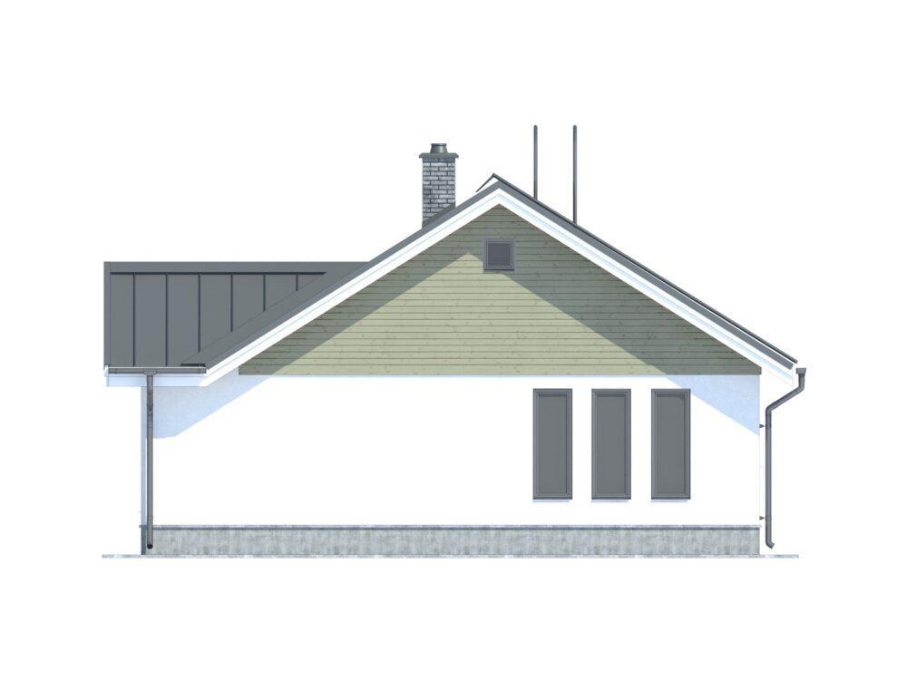 Каркасный дом ОДК 9,5х10,5