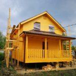 Жилой каркасный дом в Талдомском районе 70 м2
