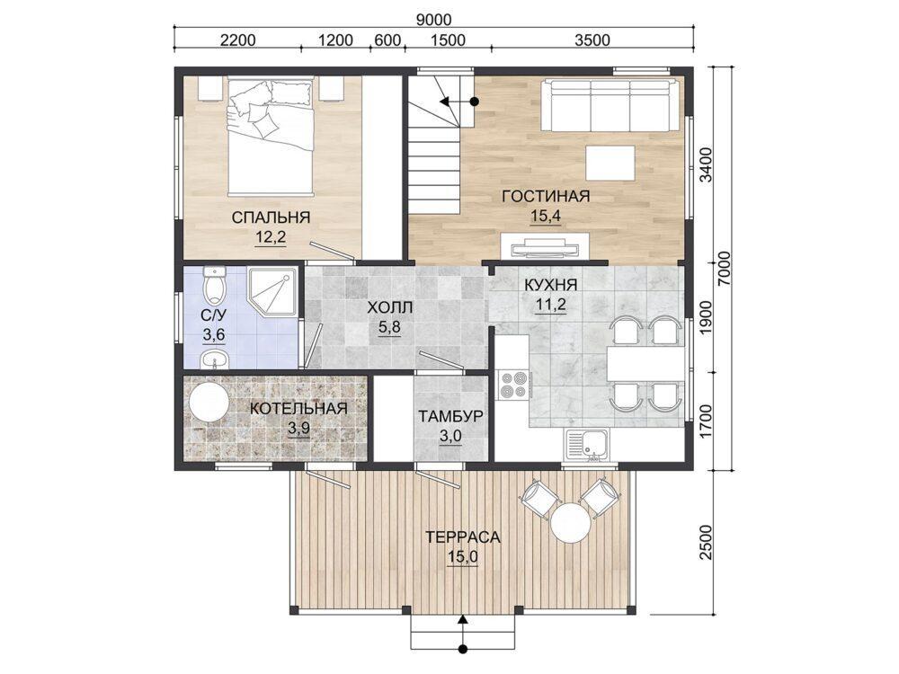 Фото Планировки 1 этажа